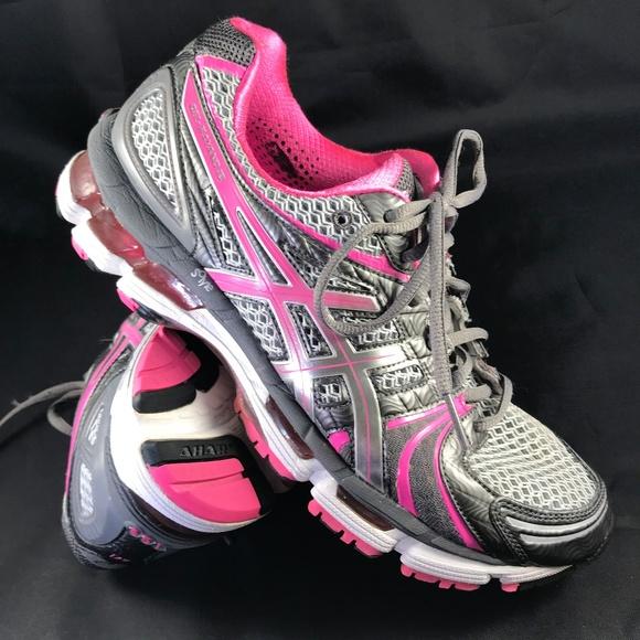 promo code 9f82c 79a8e Asics Shoes - Mint ASICS GEL Kayano 18 grey pink sz 10.5 womens